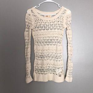Hollister open knit sweater